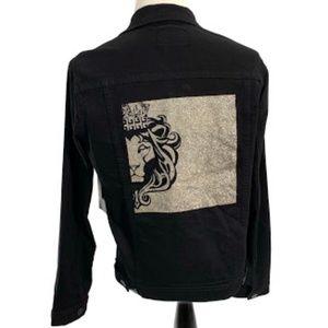 84bde5c3954f Versace Italia V 1969 Men s Denim Jacket Lion Logo
